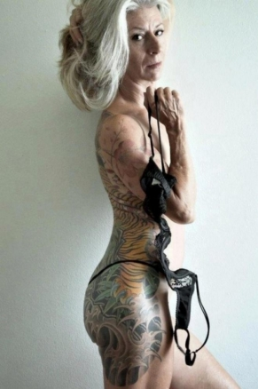tattoed lady